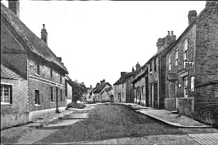 High Street view from Burt's Lane c.1930